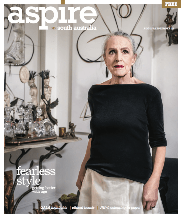 Aspire, Magazine, Cover, Ageing