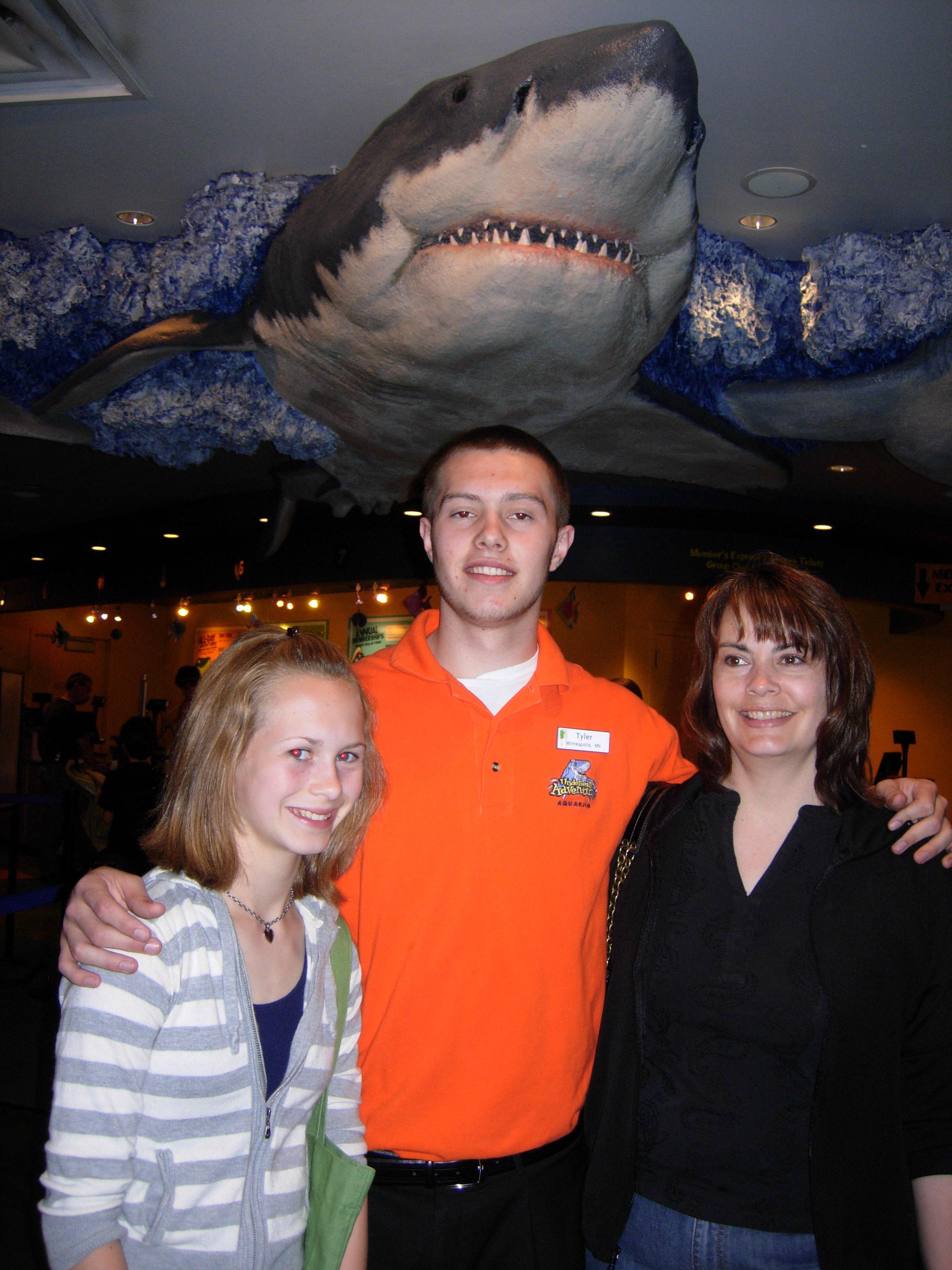 Morgan, Tyler and Janeen