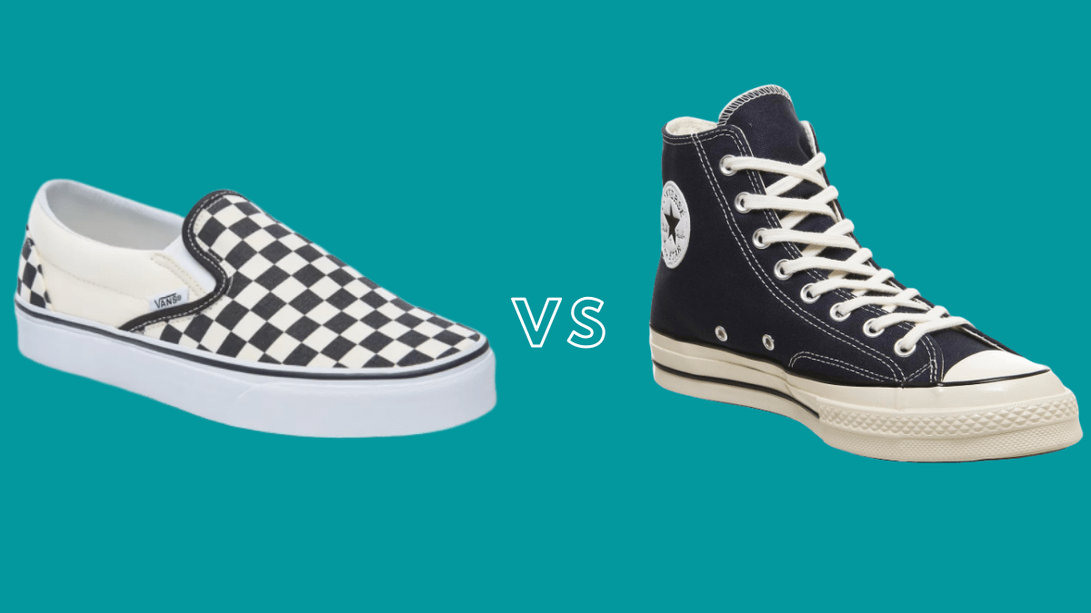 do vans fit like converse