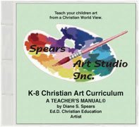 TOS CREW REVIEW: Spears Art Studio Christian Art Curriculum