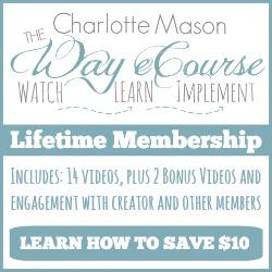 The Charlotte Mason Way eCourse