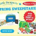 Little Passports + Melissa and Doug Spring Sweepstakes Giveaway, ends 3-31-15