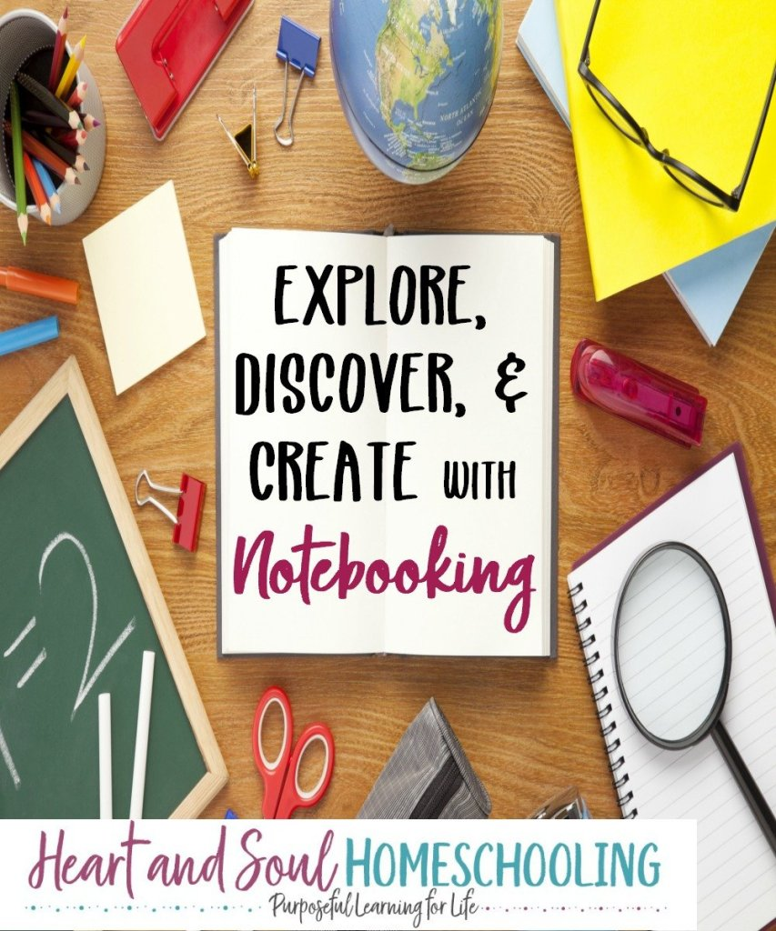 How to use notebooking in your homeschool | Explore, Discover, and Create with Notebooking | Homeschool notebooking pages
