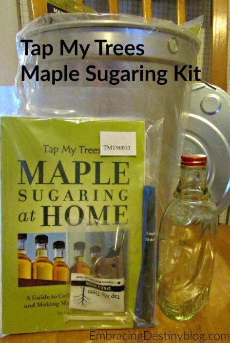 Tap My Trees maple sugaring kit