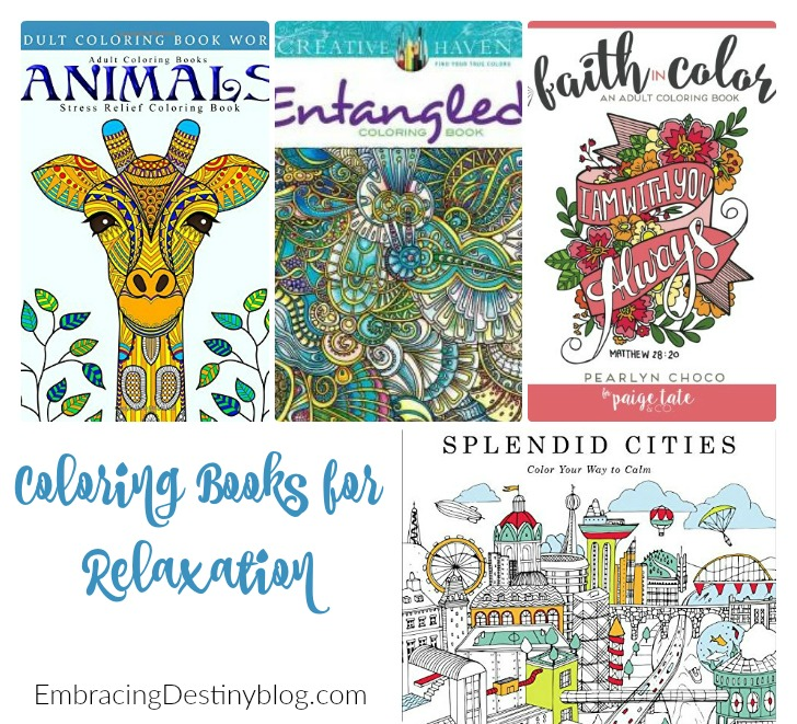 adult coloring books for relaxation. heartandsoulhomeschooling.com