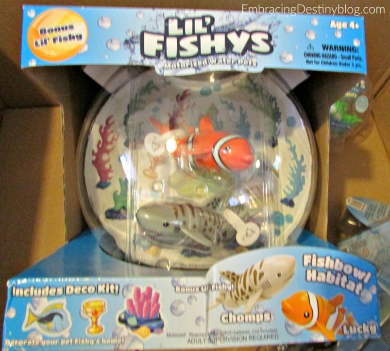lil fishys bowl toys for summer