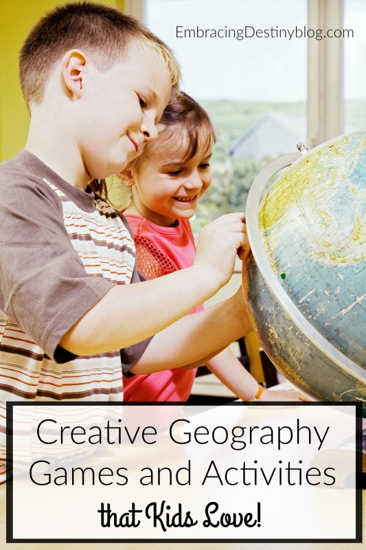 Make geography fun with games and hands-on learning activities. heartandsoulhomeschooling.com