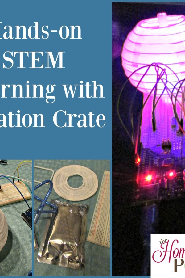 Hands-on STEM Learning with Creation Crate