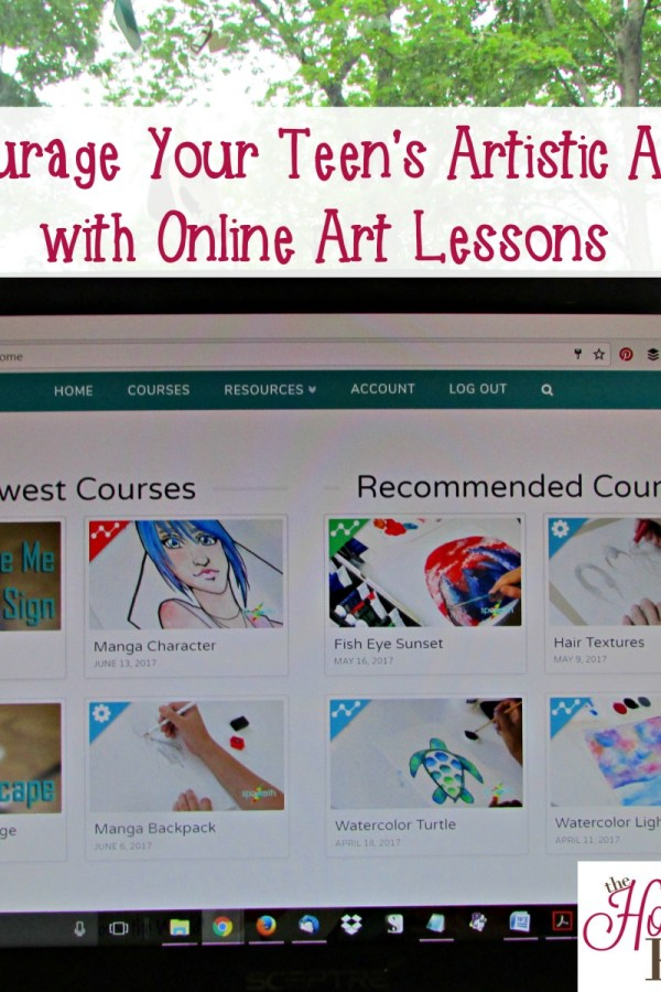 Encouraging Your Teen's Artistic Ability with Online Art Lessons