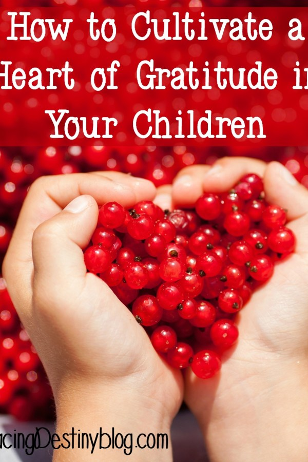 How to Cultivate a Heart of Gratitude in Your Children