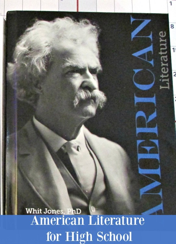 High School American Literature for Homeschool by Apologia
