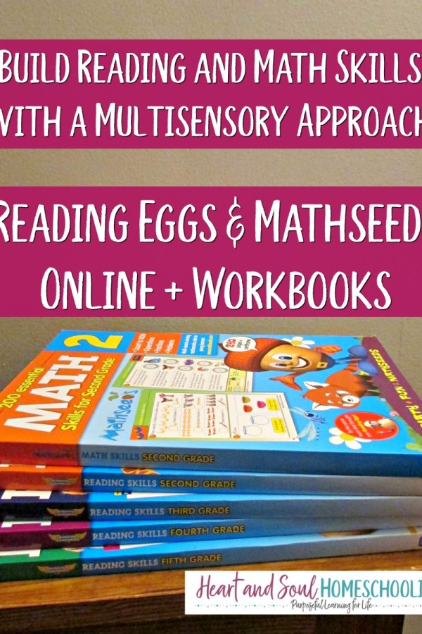 Build Reading and Math Skills with a Multisensory Approach