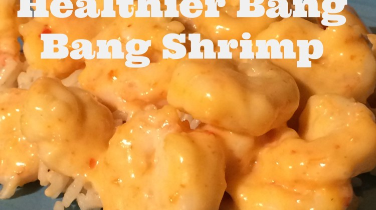 Healthier Bang Bang Shrimp