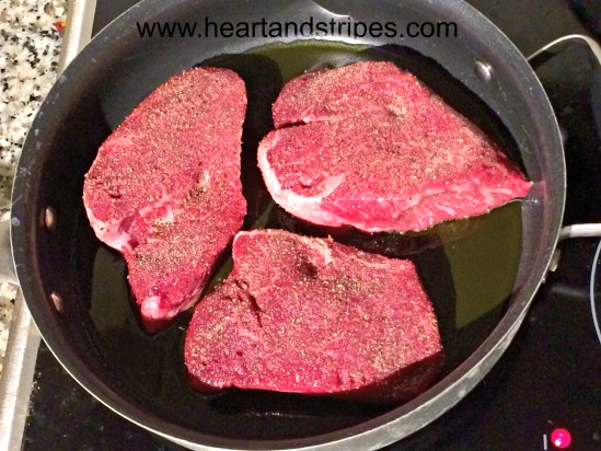 Steak Cooked to Perfection