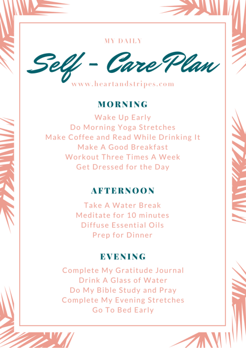 Daily Self-Care Plan