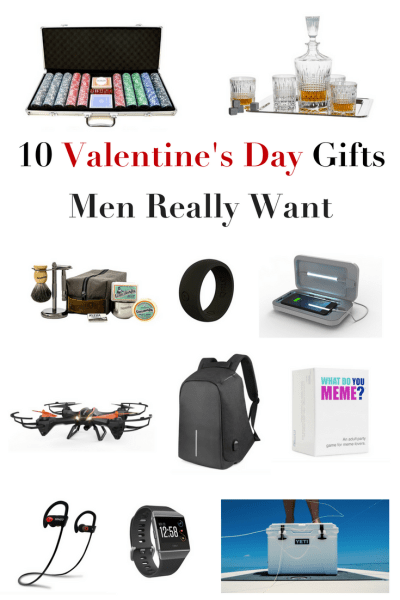 10 Valentine's Day Gifts Men Really Want