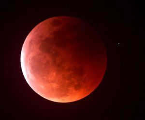 The beauty of the Lunar Eclipse