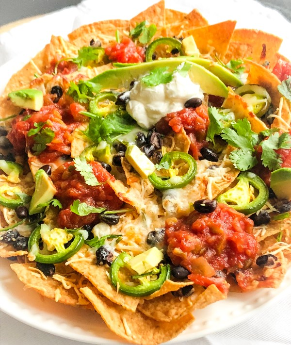 Fall Off (the wagon) Fridays with Baked Nachos Supreme