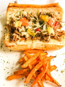 Slow Cooker Classic Chicago Style Italian Beef Sandwiches