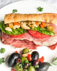 Fall Off (the wagon) Fridays with this Chicago Style Italian Grinder