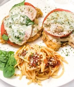 Quick & Delicious Healthy Chicken Parmesan