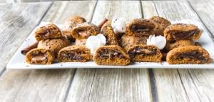 Skinny Pumpkin Chocolate Caramel Cookies
