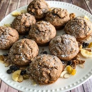 Raisin & Bran Muffins
