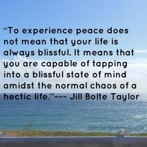 bliss peace