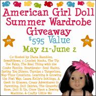American Girl Doll Summer Wardrobe Giveaway