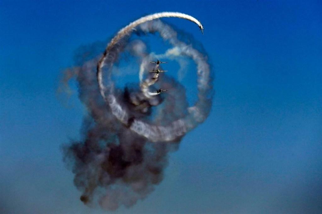 Amazing air show