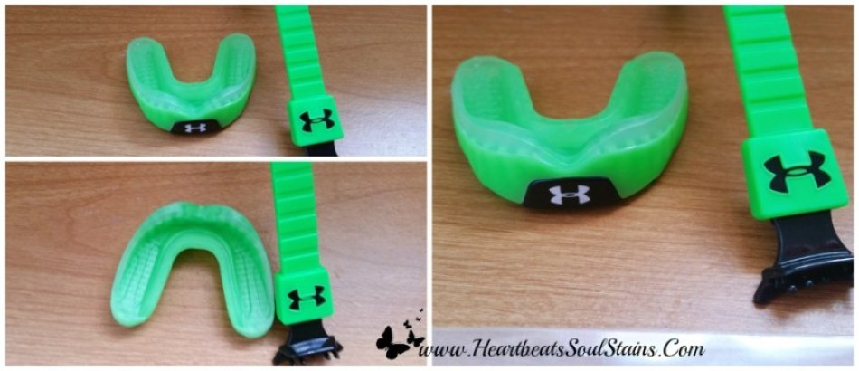 Cool mint flavor and awesome design you can't go wrong with the UA ArmourShield Mouthguard