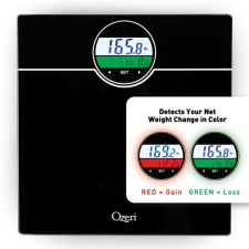 Ozeri Weightmaster 400 lbs Digital Bath Scale