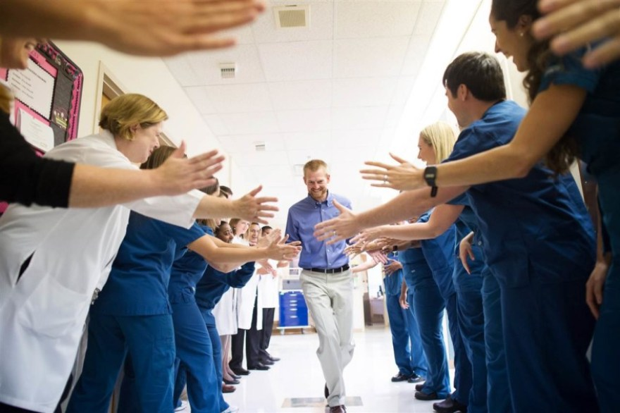 Dr. Kent Brantly finding hope and never giving up