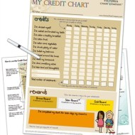 My Credit Reward Chart by The Victoria Chart Company