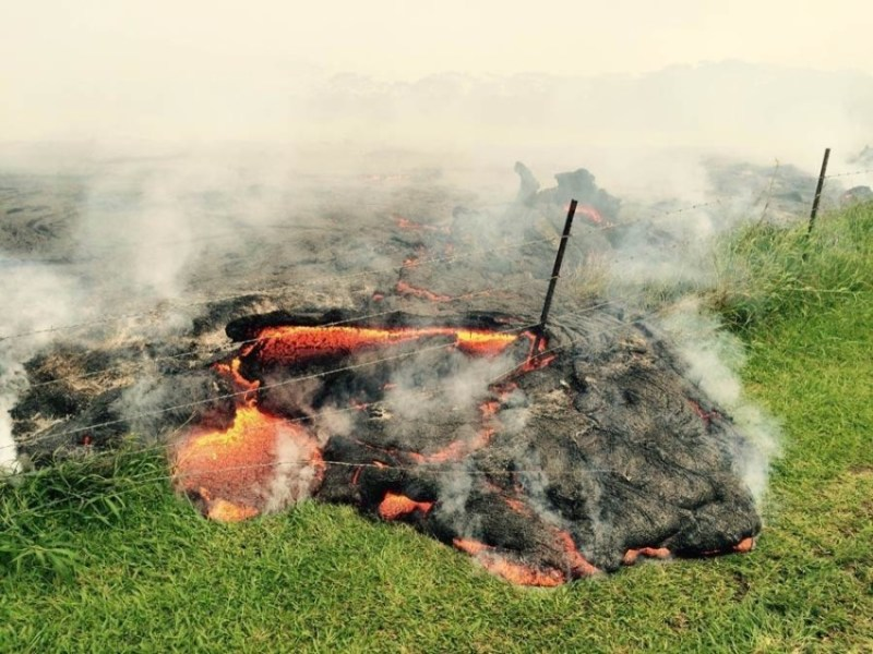 Puna Lava Flow set to destroy everything in it's path