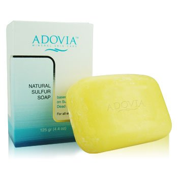 Natural Sulfur Soap by Adovia left my skin smooth and perfectly in balance.