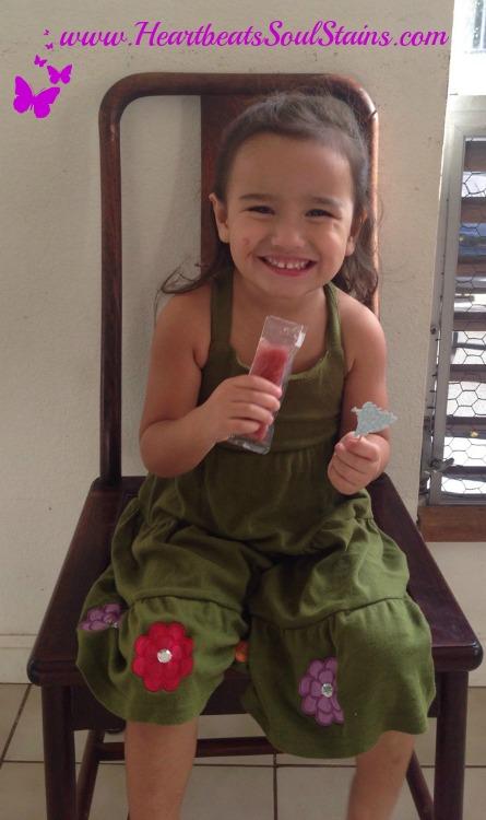 my little one loves her Soothie Sucker Herbal Ice Pop