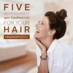 Hair Tutorial:  5 DIY Spa Treatments for Your Hair
