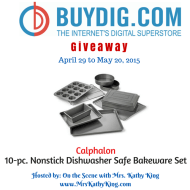 Calphalon 10-pc. Nonstick Dishwasher Safe Bakeware Set Giveaway