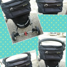 Premium Baby Stroller Organizer by Spark and Bee
