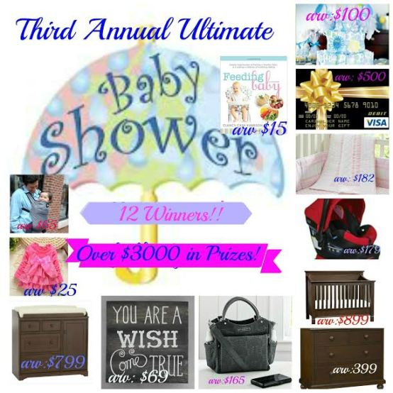 Ultimate baby shower Giveaway