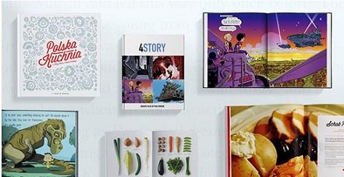 create books with blurp