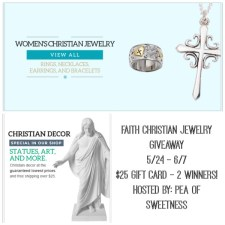 FAITH Christian Jewelry Giveaway