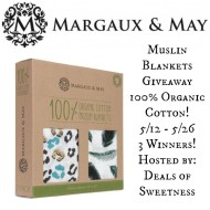 Muslin Blankets Giveaway