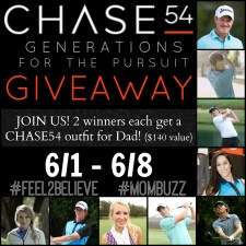 Chase54 Father's Day Giveaway #Feel2Believe #MomBuzz