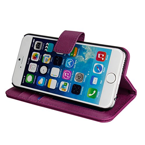 iphone 6 wallet case with folding stand