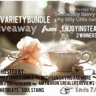 6 Teas Variety Bundle Giveaway #tea_enjoyingtea