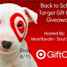 Back to School Target Gift Card Giveaway