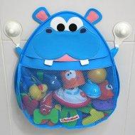 Hurley Hippo Bath Toy Organizer By Cheraboo
