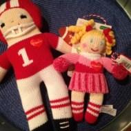 Zubels Football Player and Cheerleader Giveaway #zubels